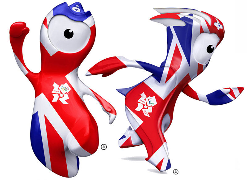 И талисман олимпиады 2012 в лондоне